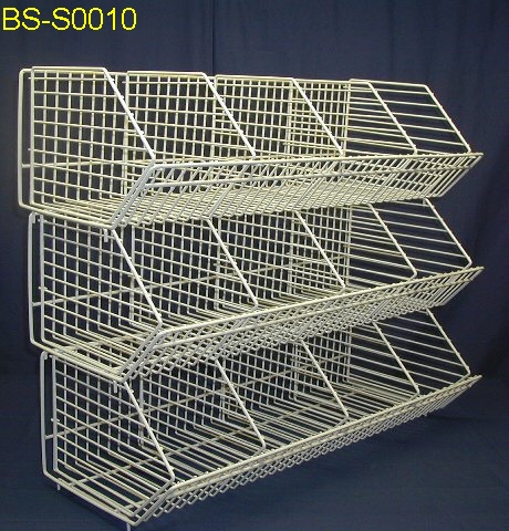 Wire Baskets Stacking Dump Bins