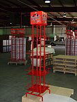 Tubing Display Tall Stand